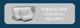 We recommend Naturalizer Cervical Pillows